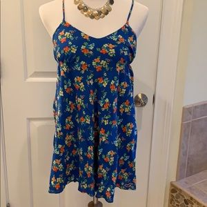 Hollister Crepe Lined Hi-Low Sleeveless Dress